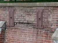 falling retaining walls