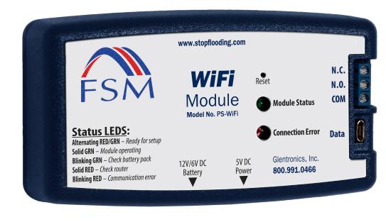 pro sump pump series wifi module