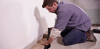 installing drywell