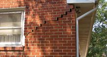 cracks in masonry