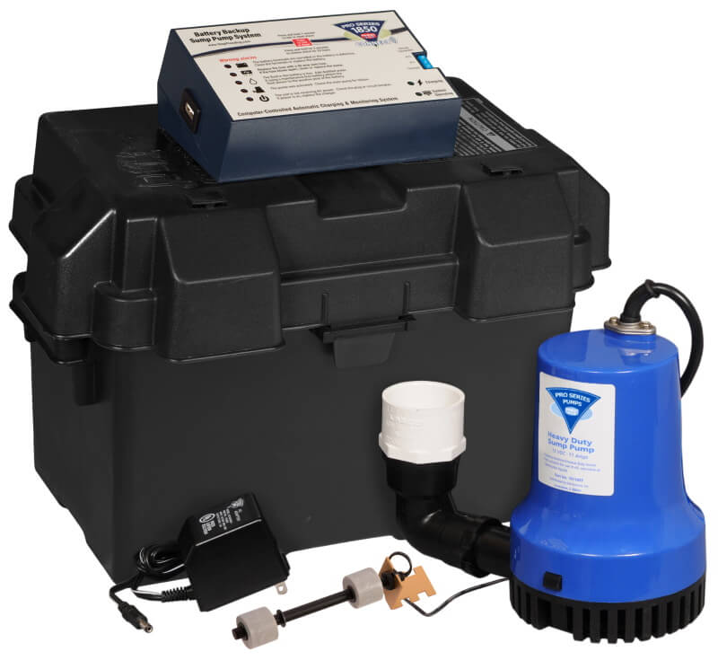 ultra sump battery backup system