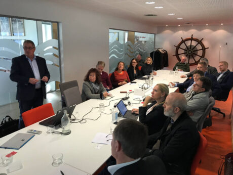 Industry experts gathered at lunch seminar with Euler Hermes to discuss financing for seafood industry