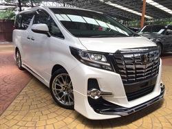 Toyota Alphard 3.5 Sac Edi 4 Cam