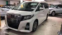 Toyota Alphard 2.5 Sc Full Spec