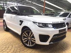 Land Rover Range Rover Sport 5.0 Svr P/Roof