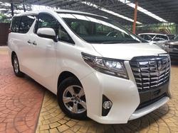 Toyota Alphard 2.5X Edi New Model