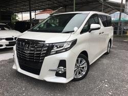 Toyota Alphard 2.5 Sa Wooden Trim