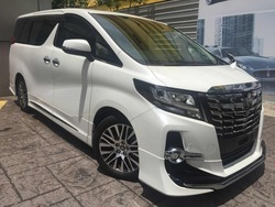 Toyota Alphard 2.5 Sc Edi Pre Crash