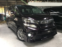 Toyota Vellfire 2.4 Golden Eye Ii