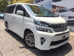 Toyota Vellfire Golden Eyes2 P/Roof