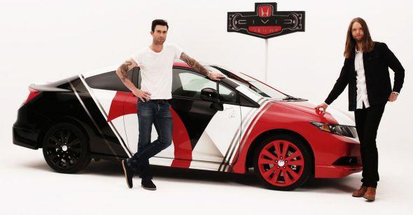 Maroon 5 honda sweepstakes
