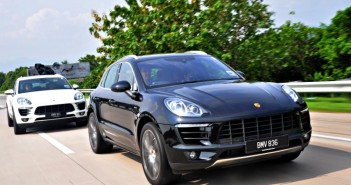 Porsche Macan media drive to Ipoh, Oct 2014