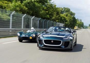 Jaguar F-Type Project 7_The original and the latest intepretation