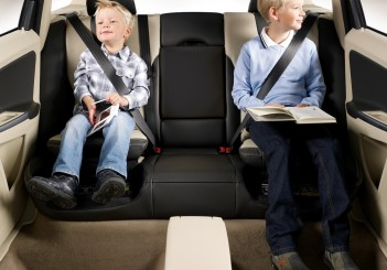 Volvo S Integrated Child Booster Seat Celebrates 25th