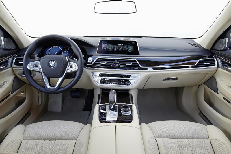 First Drive Of New BMW 7 Series
