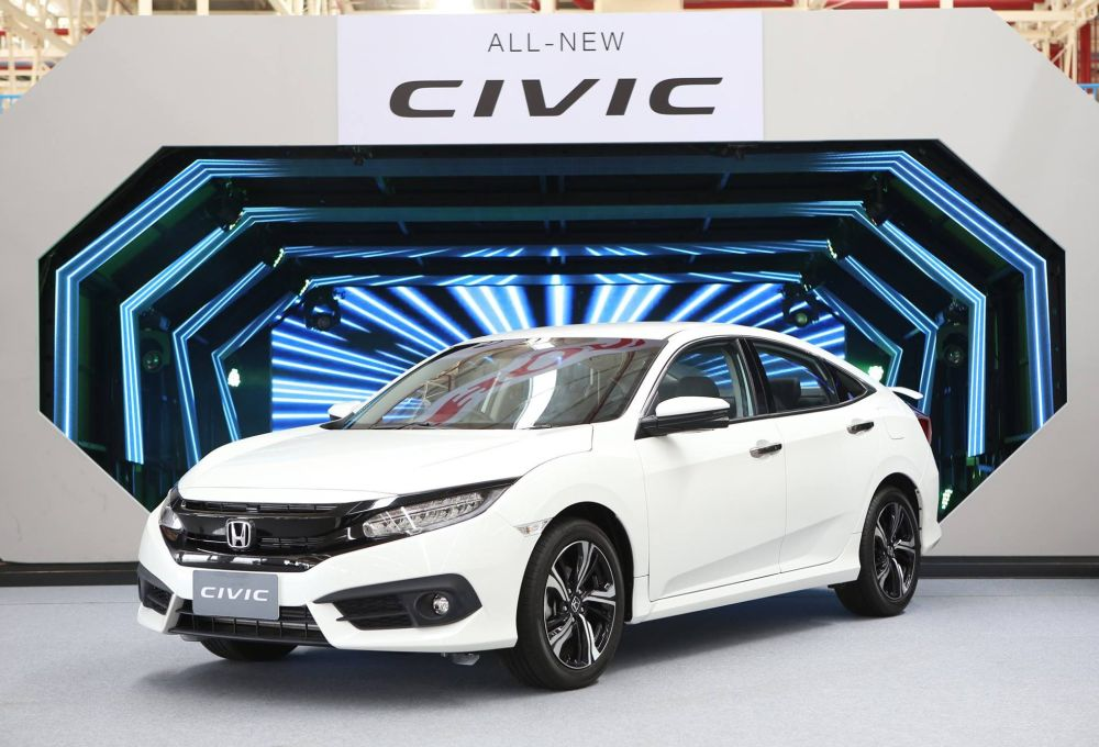 Thailand Gets All New Honda Civic Carsifu