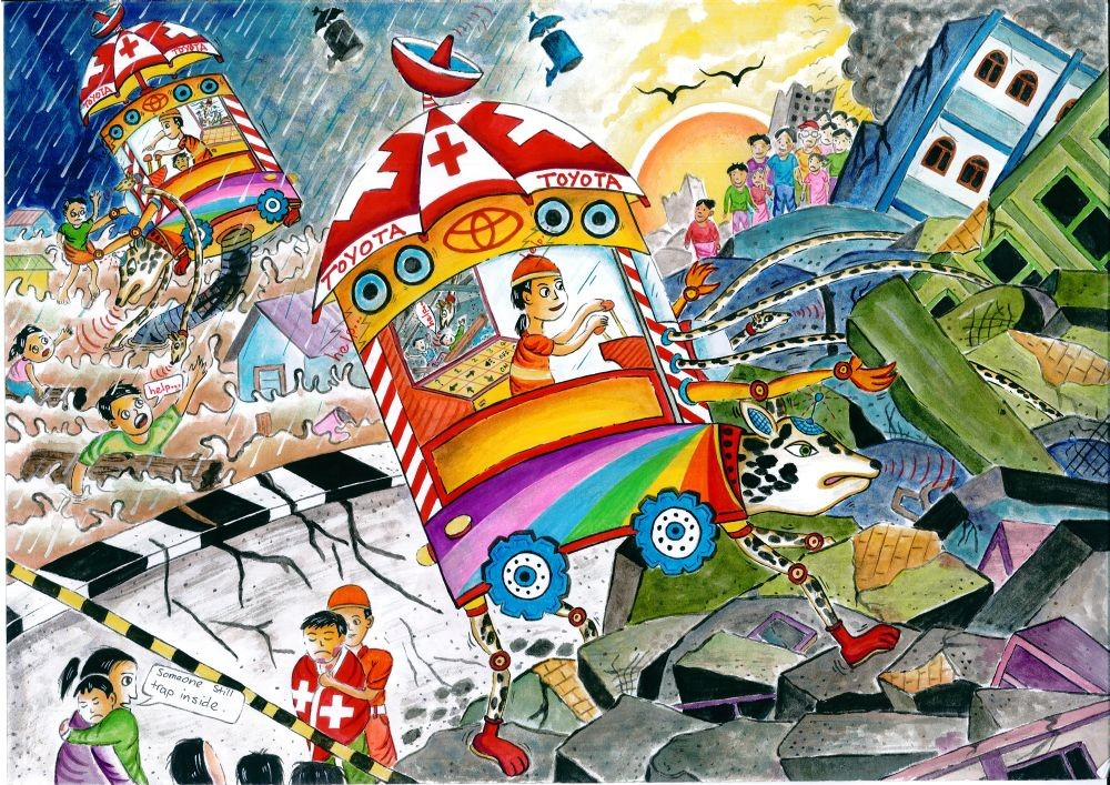 Winners Of 2016 Toyota Dream Car Art Contest Announced Carsifu