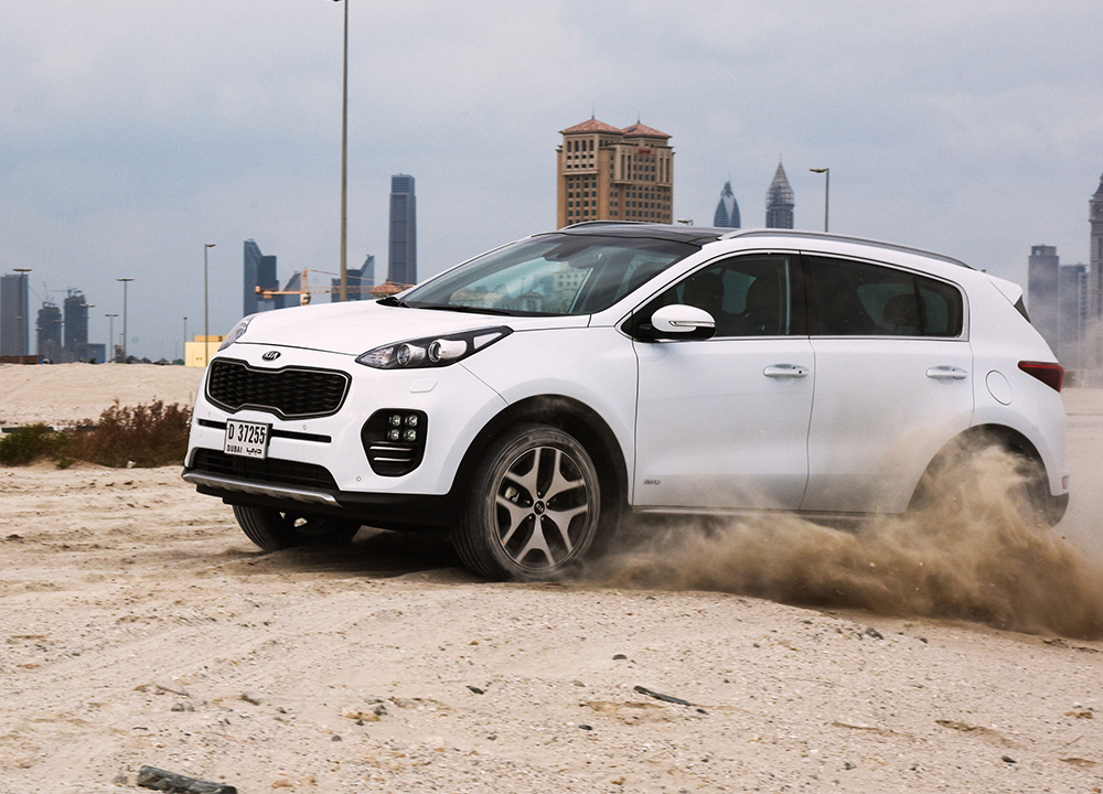 Beautiful New Kia Sportage Driven In Dubai   VIDEO