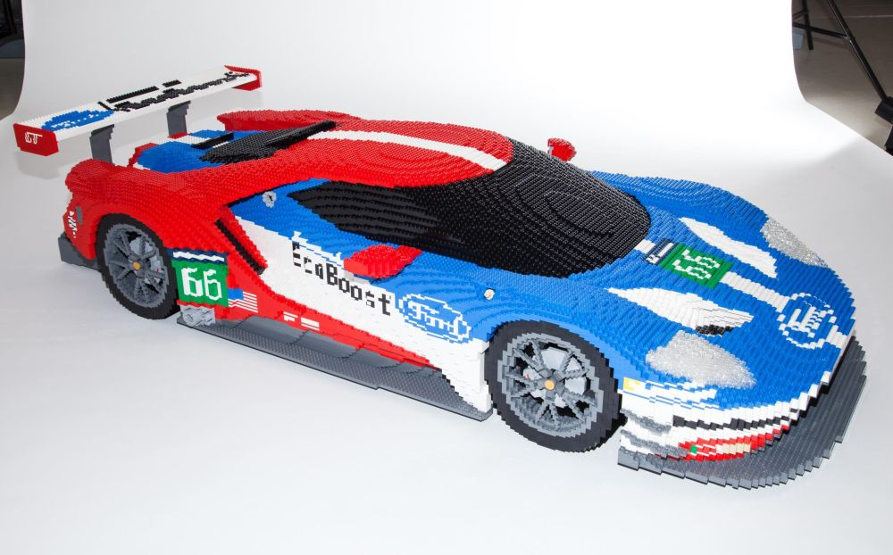 Lego Ed Version Of Ford Gt To Go On Display