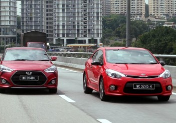 Hyundai Veloster Turbo and Kia Cerato Koup - 04