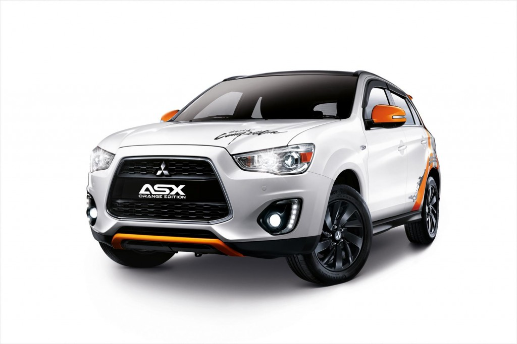 mitsubishi asx orange edition rolls in limited to 180 units carsifu. Black Bedroom Furniture Sets. Home Design Ideas