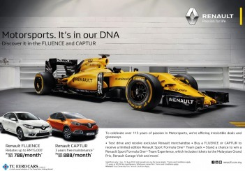 'Renault - Motorsports Is In Our DNA ' Campaign_English (Custom)