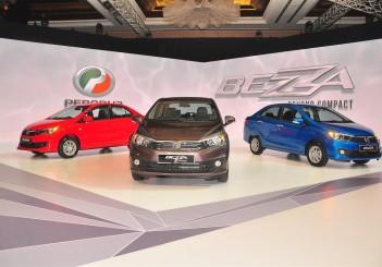 Perodua Bezza launch