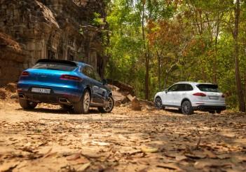 Porsche - 000-2 Macan (L) and Cayenne