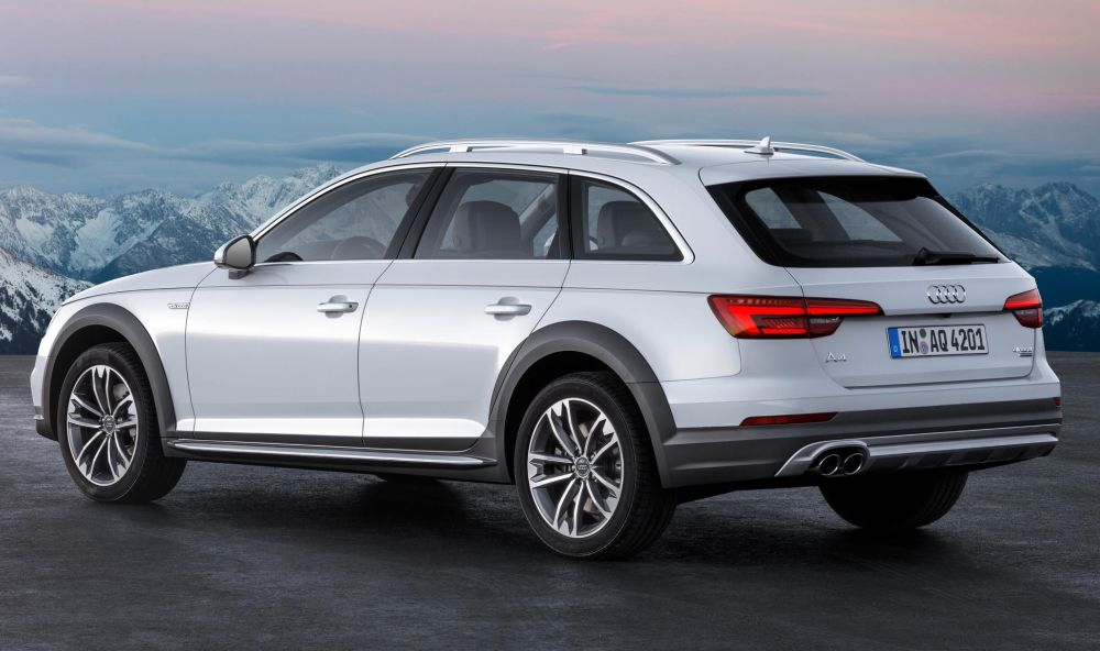 Audi Reveals USspecced A Allroad CarSifu - Audi allroad ground clearance