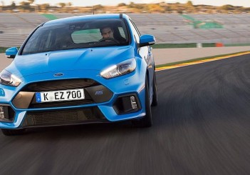 The all-new Focus RS comes with industry-first Drift Mode