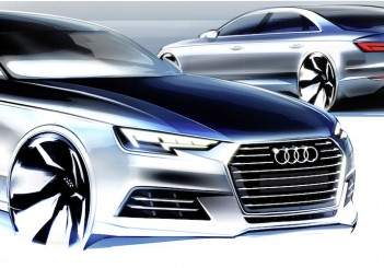 Design Sketch of Audi A4