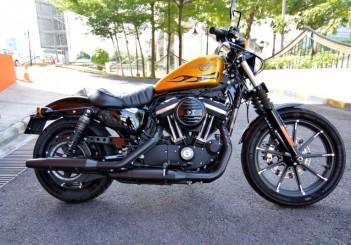 Harley-Davidson Iron 883 - 01