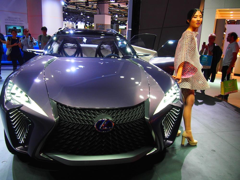 2016 Paris Motor Show: Lexus UX Concept in world debut   CarSifu
