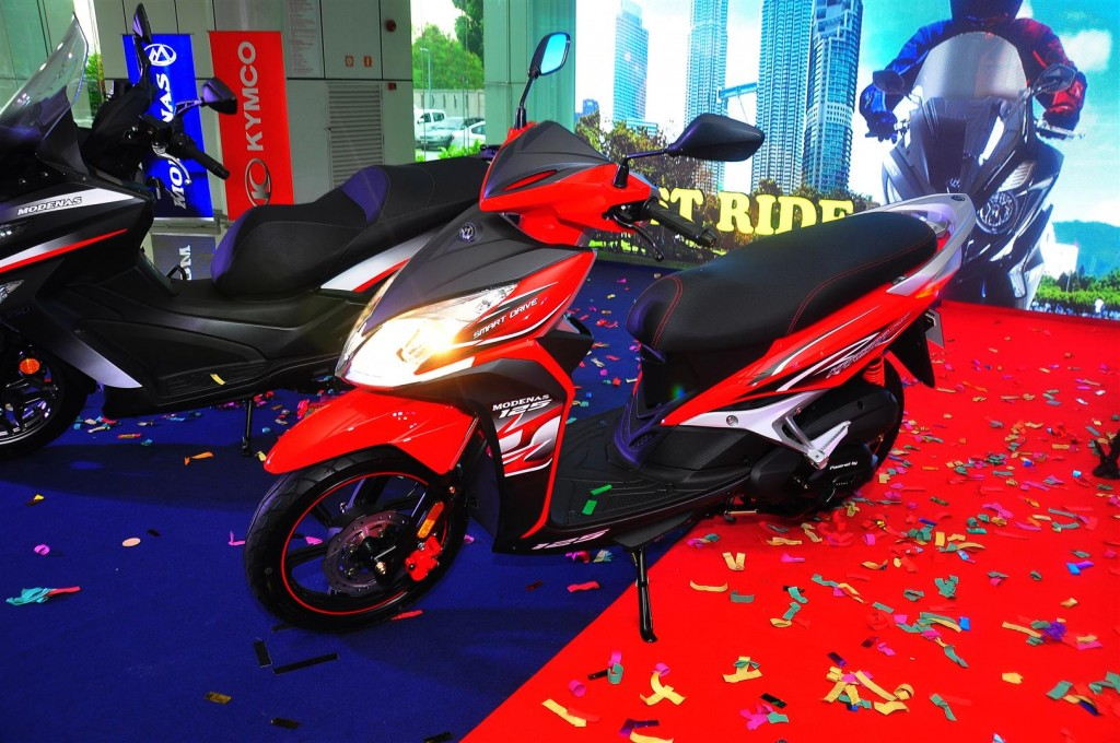 New Modenas Karisma Elegan And Kymco Downtown Scooters Introduced
