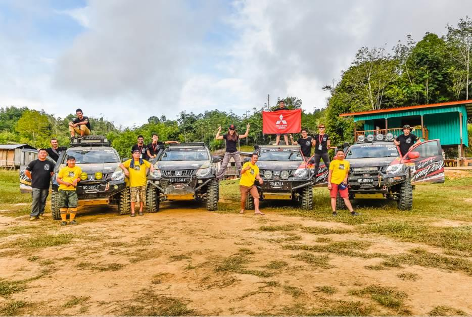 Team Mitsubishi Triton for the 26th Borneo Safari!