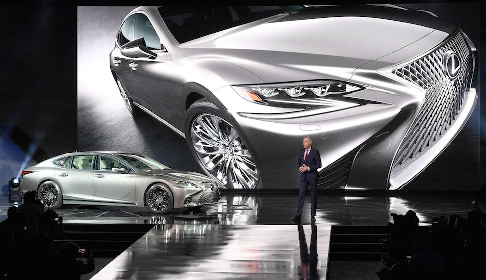 Detroit Auto Show Lexus Releases New LS Flagship CarSifu - Lexus car show