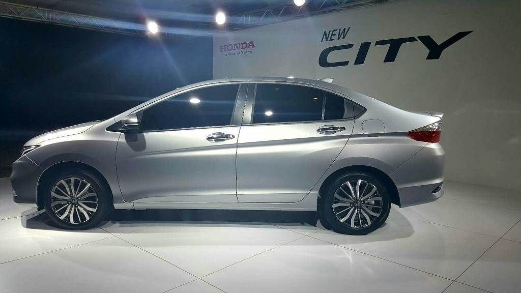 Honda City facelift (2017) - 02