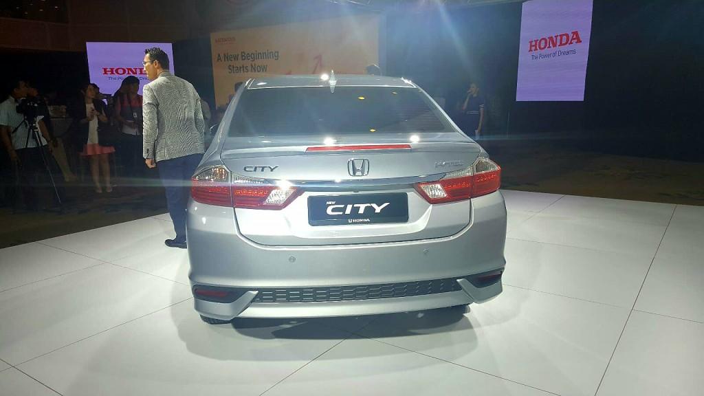 Honda City facelift (2017) - 04