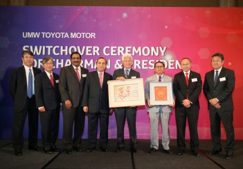 UMW Toyota Motor's new chairman and president (2017)