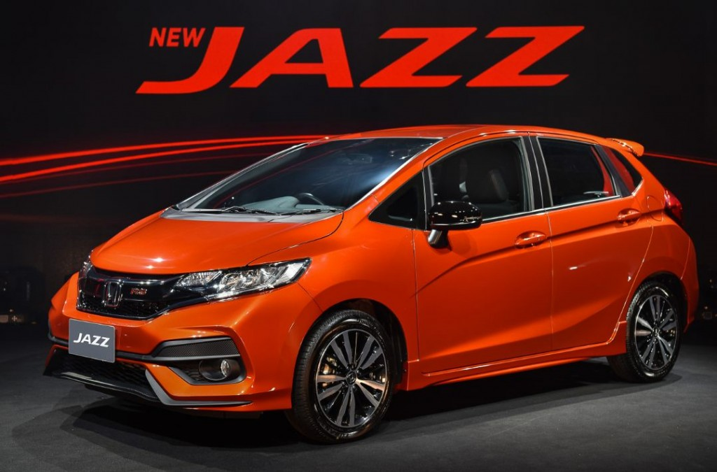 Honda Thailand Rolls Out New Jazz RS
