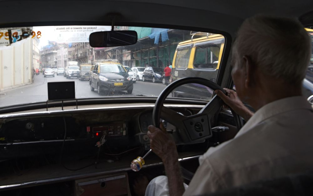 INDIA-TRANSPORT-TAXI-ENVIRONMENT-POLLUTION