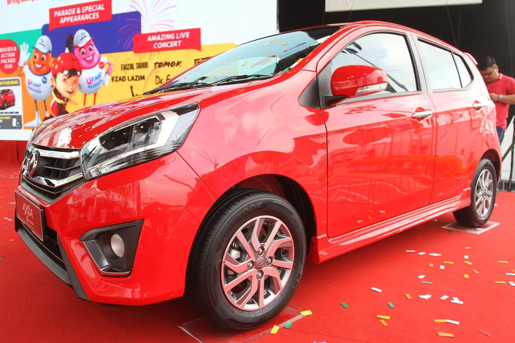 Perodua sold 32,600 units of the Axia in the first six months of 2017.
