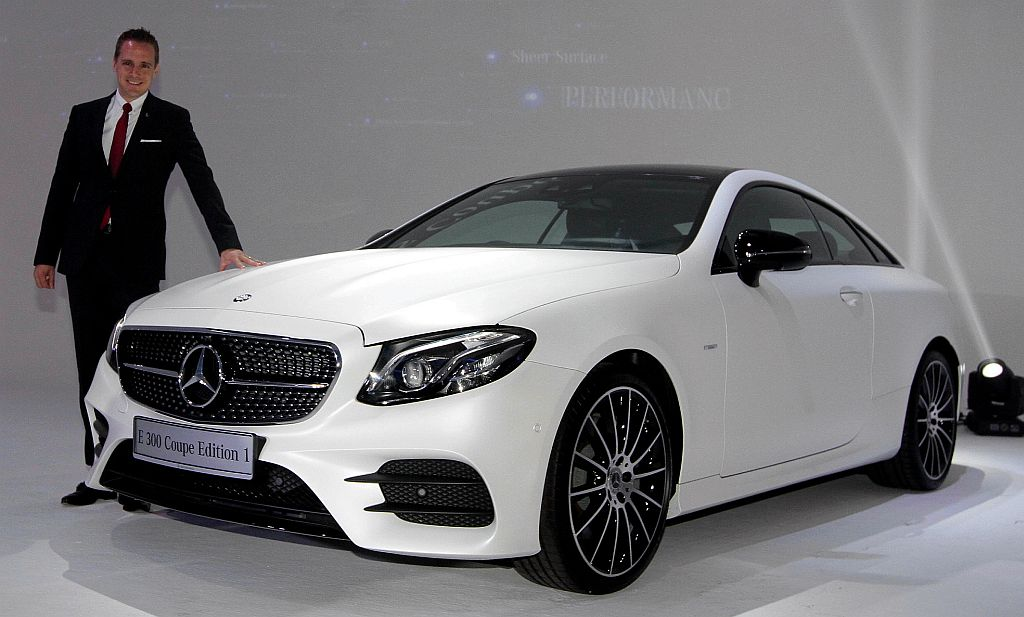 PETALING JAYA: The All New Mercedes Benz E Class Coupe Has Landed On Our  Shores And Is Available In Two Variants   E 200 Coupe And E 300 Coupe    Priced At ...