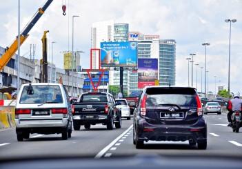 Dangerous Roads - 40 along Damansara Link from Damansara toll plaza