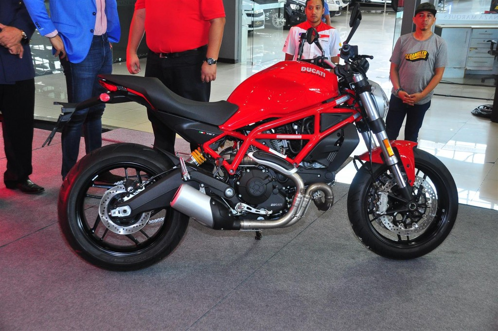 Ducati Monster  Seat Height Adjustment
