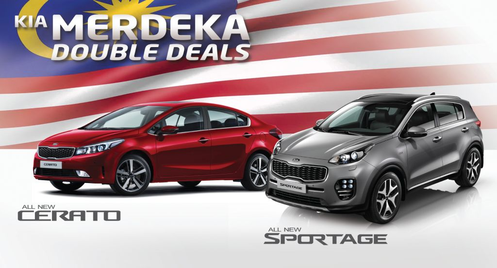 Merdeka Goodies With Sportage Gt And Cerato Carsifu
