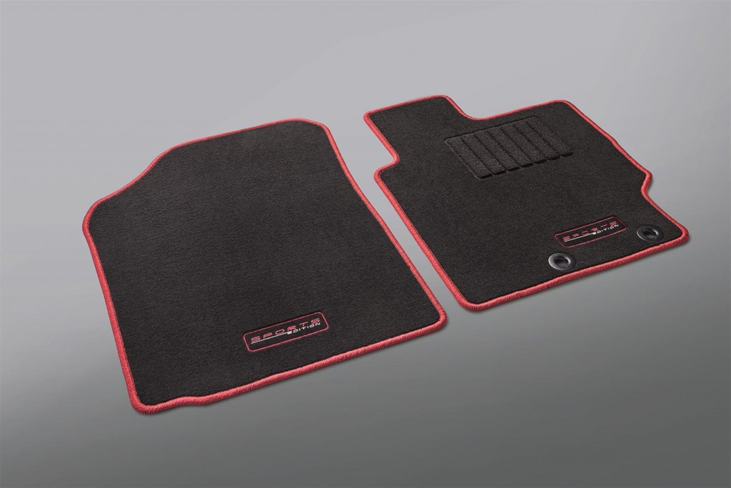 Toyota Vios Sports Edition - 07 TYT Carpet Mat