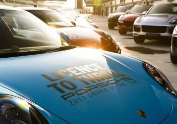 Porsche Licence To Thrill (2017) - 01