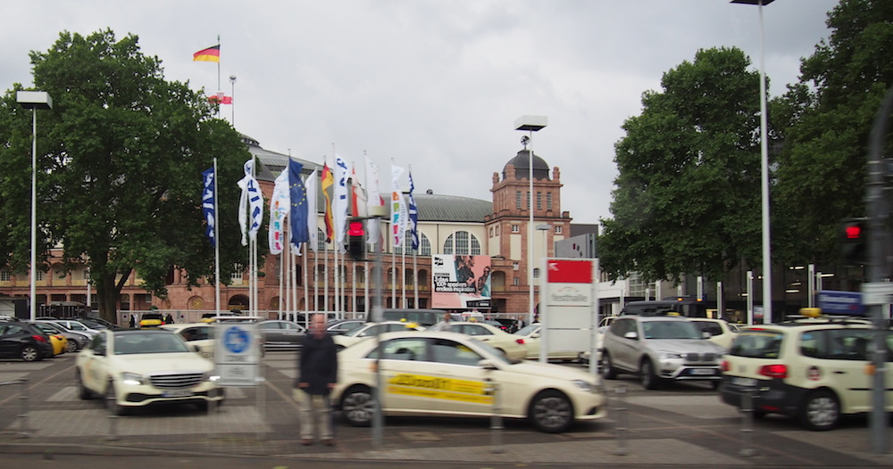 Messe Frankfurt or Frankfurt Exhibition Centre is the venue of the motor show.