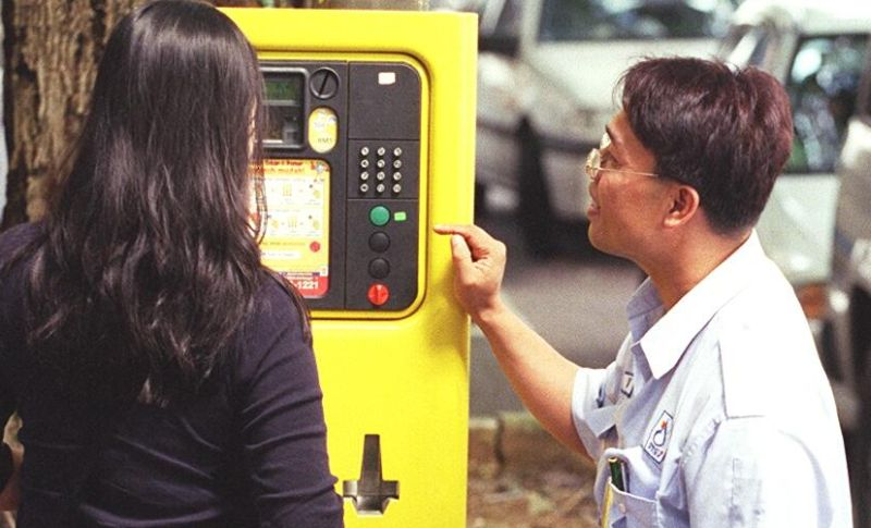 Working parking meters are harder to find in Petaling Jaya nowadays.